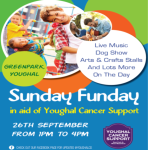 Youghal Cancer support centre family suday funday